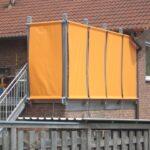 Balkone vor neugierigen Blicken schützen