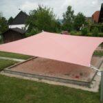 Sonnenschutz für Sandkasten