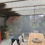 Sichtschutz und Windschutz für Terasse